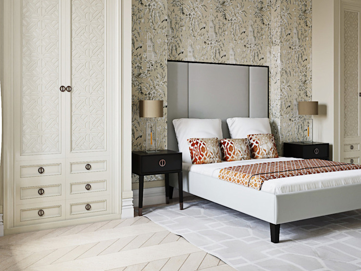 Classic style bedroom by Дизайнер Ирина Оника Classic