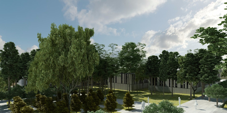 Arquitectura Exterior Modern garden