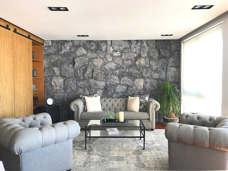 Urbyarch Arquitectura / Diseño Classic style living room