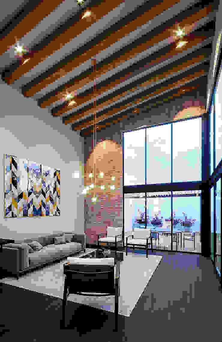 Proyecto Lomas de las Palmas Urbyarch Arquitectura / Diseño Salones industriales