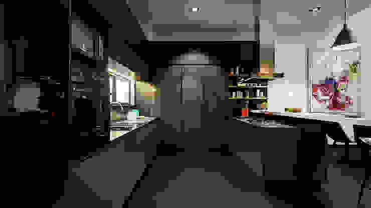 Proyecto Lomas de las Palmas Cocinas industriales de Urbyarch Arquitectura / Diseño Industrial
