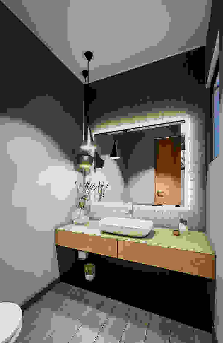 Urbyarch Arquitectura / Diseño Industrial style bathroom