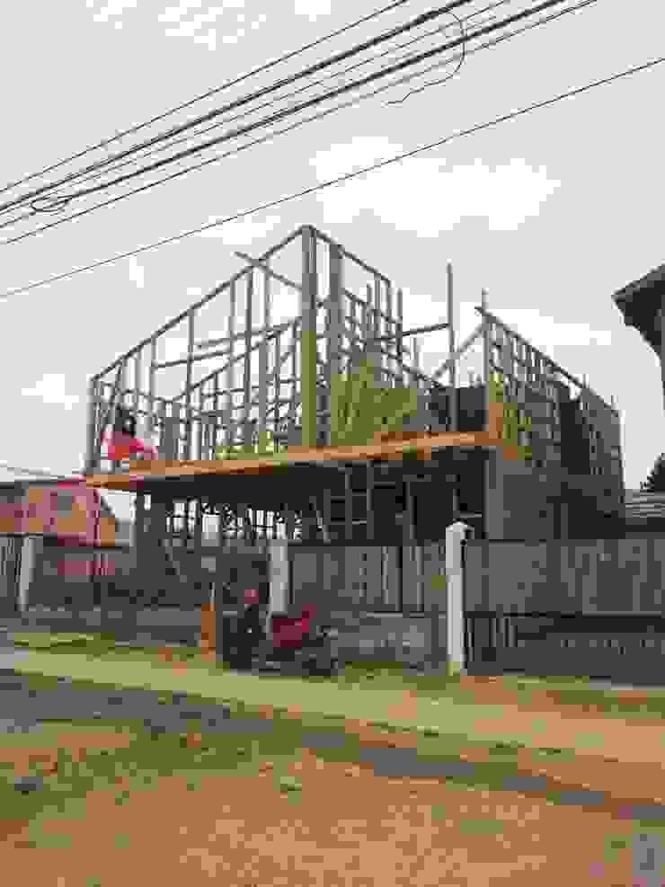 Entramado Fachada Principal Loberia Arquitectura Casas de estilo clásico