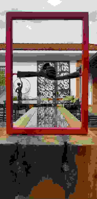 Arte na decoração Bares e clubes modernos por Izabella Biancardine Interiores Moderno