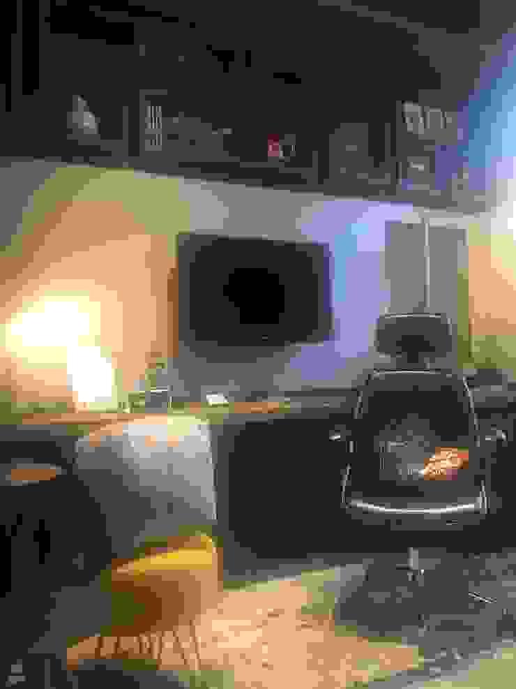 Izabella Biancardine Interiores Sala multimediaMuebles