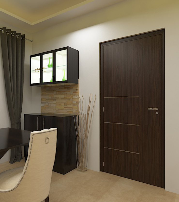 Crockery unit Modern Dining Room by 360 Degree Interior Modern