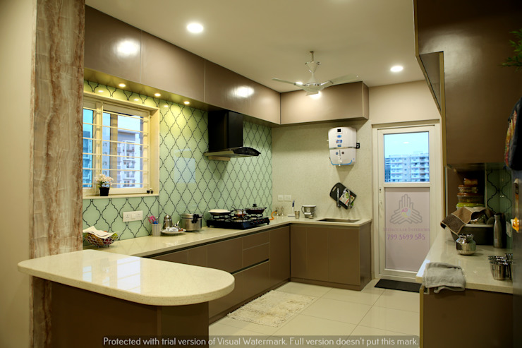by Meticular Interiors LLP Modern