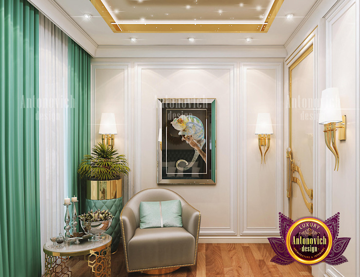 Stylish Luxury Colors for a Strong Impression by Luxury Antonovich Design