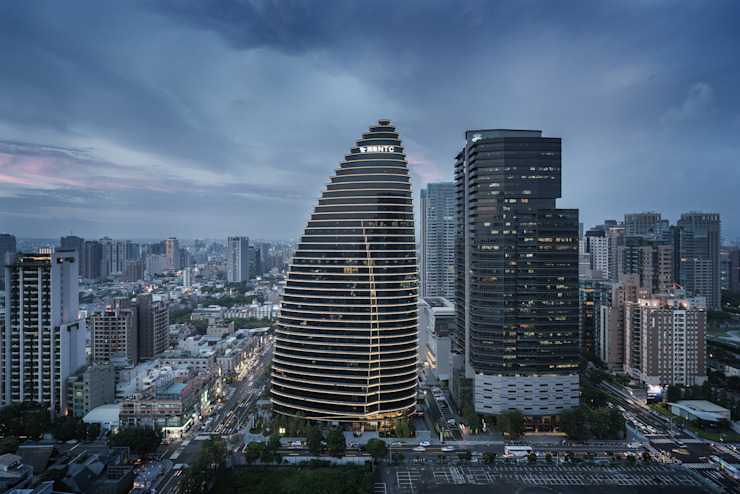 by Architecture by Aedas Asian Metal