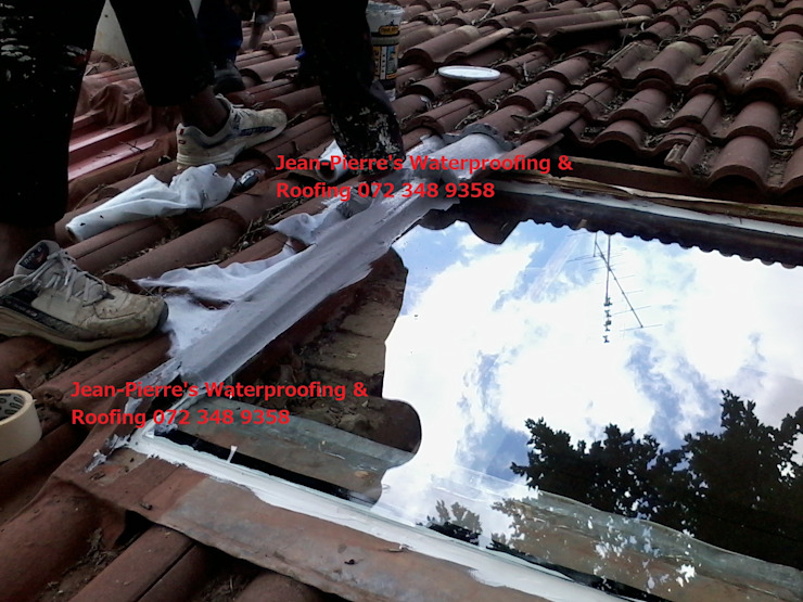 skylight repairs and replacements by Jean-Pierre's Waterproofing
