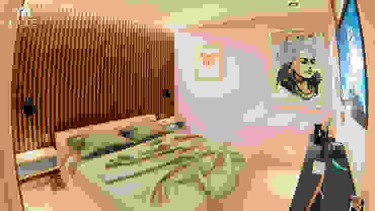 INTERIOR 25G / VIÑA SAN REMO Habitaciones modernas de CRECE ARQUITECTURA SAS Moderno
