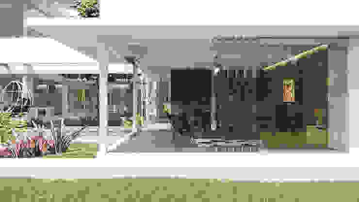 Maisons modernes par D'ODORICO ARQUITECTURA Moderne