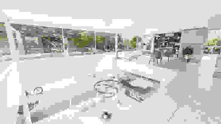 Salon moderne par D'ODORICO ARQUITECTURA Moderne