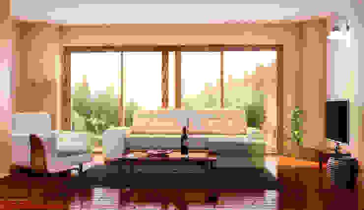 Visualización 3D: Luces del Norte - Casa campestre de Kiorama S.A.S Clásico