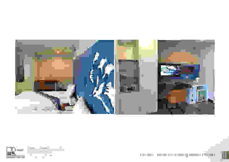โครงการออกแบบ โรงแรม DAY INN ภูเก็ต: เขตร้อน  โดย ไทศิลป์ อินทีเรีย taisilp interior, ทรอปิคอล
