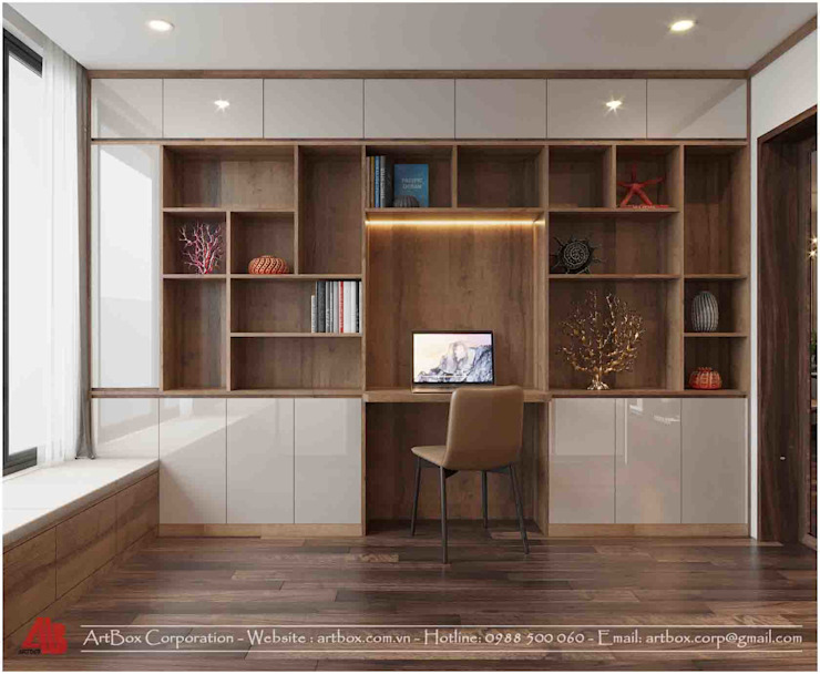 Thiết kế nội thất ARTBOX: hiện đại  by Thiết Kế Nội Thất - ARTBOX, Hiện đại