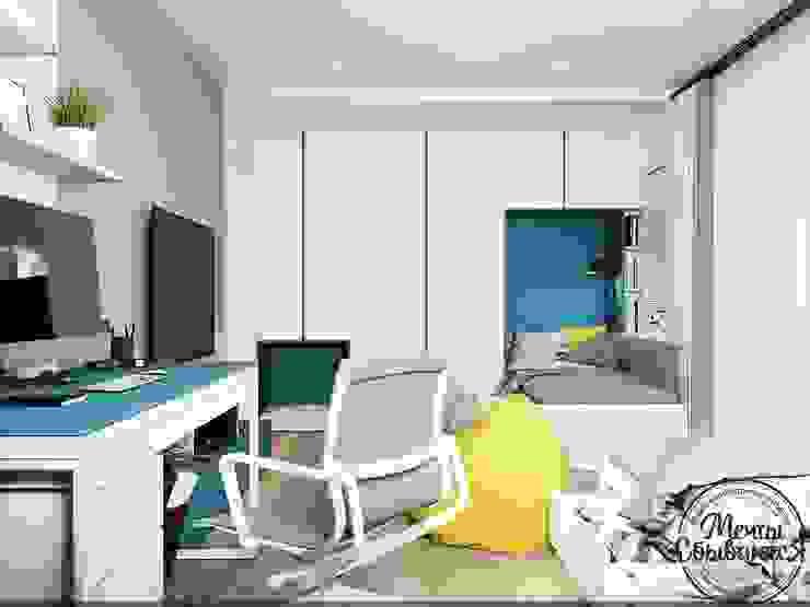 Habitaciones para niños de estilo minimalista de Компания архитекторов Латышевых 'Мечты сбываются' Minimalista