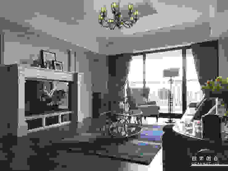 橙果創意國際設計 橙果創意國際設計 Classic style living room