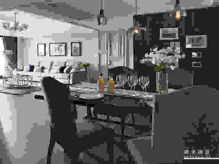 橙果創意國際設計 橙果創意國際設計 Classic style dining room