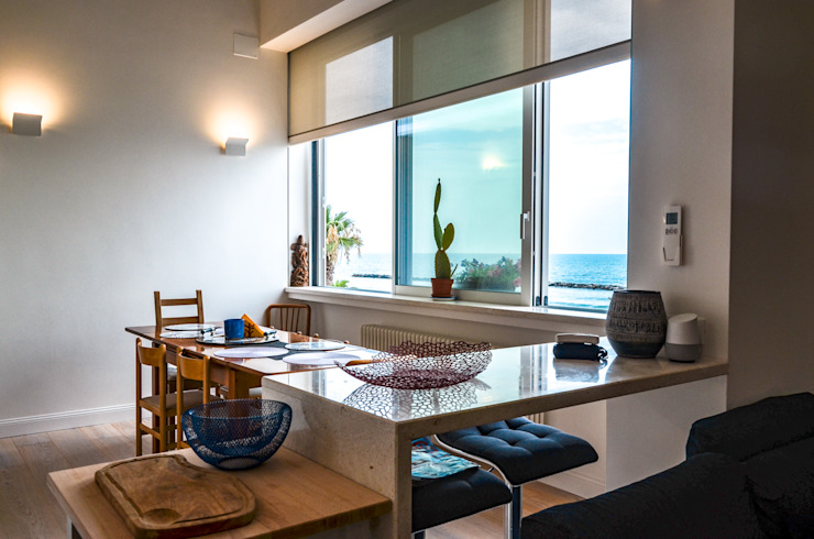 Tra mare e vecchio incasao – 90mq Sala da pranzo in stile mediterraneo di Studio ARCH+D Mediterraneo