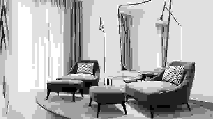 Quarto de Casal WoodSpace - Design de Interiores Quartos modernos