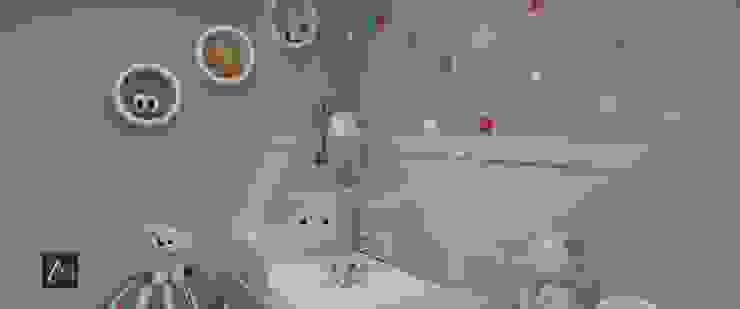 Anny Maciel Interiores - Casa Cor de Riso Boys Bedroom Wood Blue