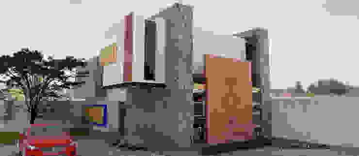 Proyecto: Colegio de Ingeniros civiles siglo XXI A.C. Estudios y despachos modernos de J+J Arquitectos. Moderno