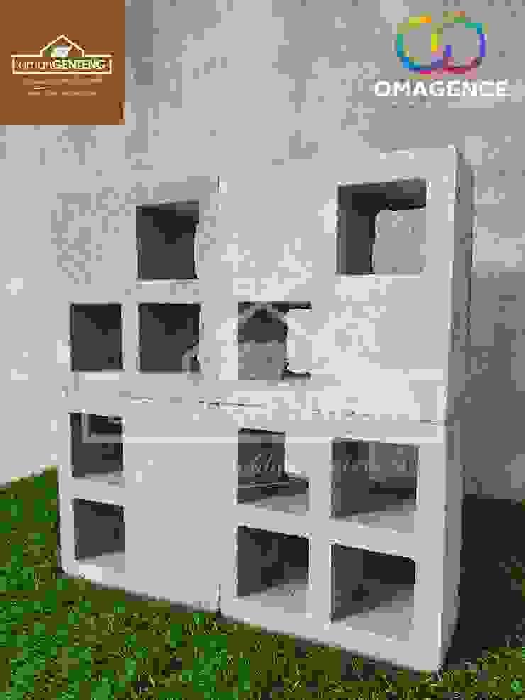 Jual Roster Beton Jakarta - HP/WA: 08122833040 - Omah Genteng Hotel Minimalis Oleh Omah Genteng Minimalis Beton