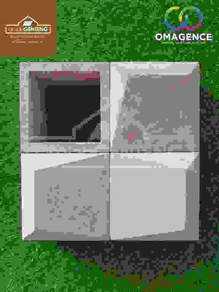 Toko Roster Jakarta - HP/WA: 08122833040 - Omah Genteng Hotel Minimalis Oleh Omah Genteng Minimalis Batu Bata