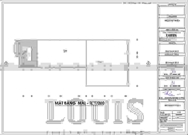 BIET THU 2 TANG CHU L DEP TAI TAY NINH bởi Công Ty Thiết Kế Xây Dựng LOUIS