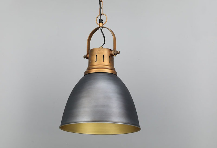 Gray Industrial Lights Adhvik Decor HouseholdAccessories & decoration