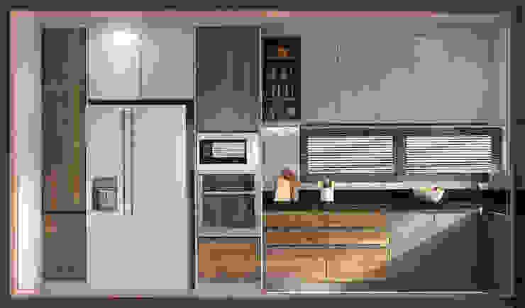 บ้านสร้างเอง โซนพุทธบูชา: ทันสมัย  โดย BAANSOOK Design & Living Co., Ltd., โมเดิร์น