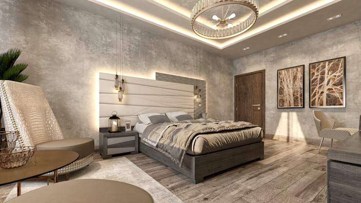 Modern style bedroom by Mockup studio Modern