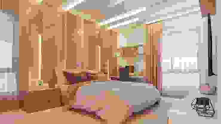 Bedroom De Panache Modern style bedroom
