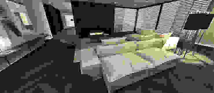Interieur nieuwbouw villa te Venray Moderne woonkamers van Thomassen Interieurs Modern