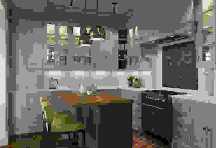 Кухня в доме на Николиной горе Кухня в классическом стиле от MARION STUDIO Классический