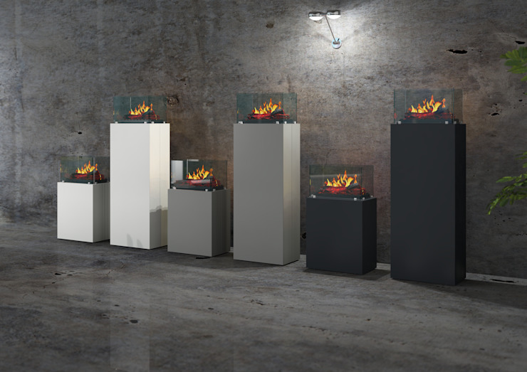 توسط muenkel design - Elektrokamine aus Großentaft