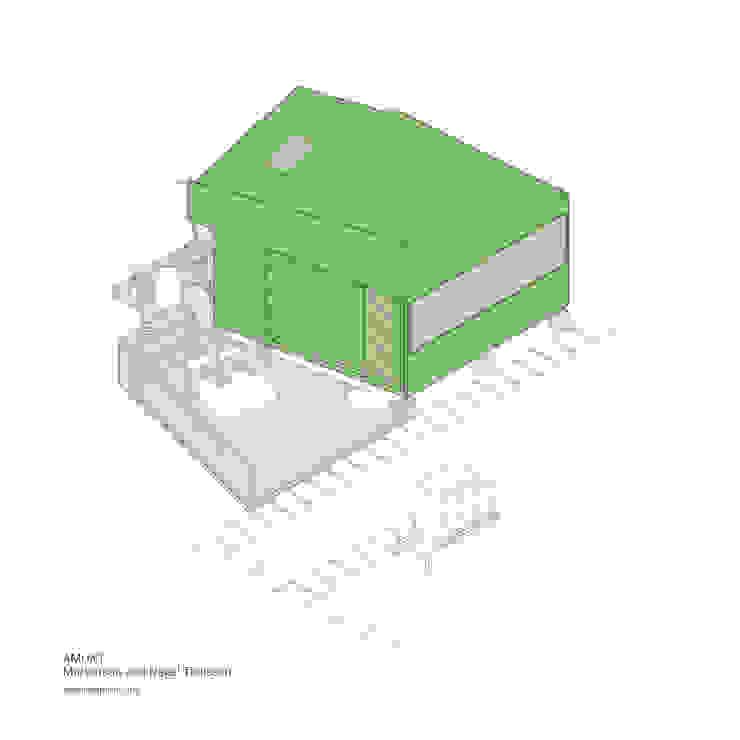 สแกนดิเนเวียน  โดย AMUNT Architekten in Stuttgart und Aachen, สแกนดิเนเวียน