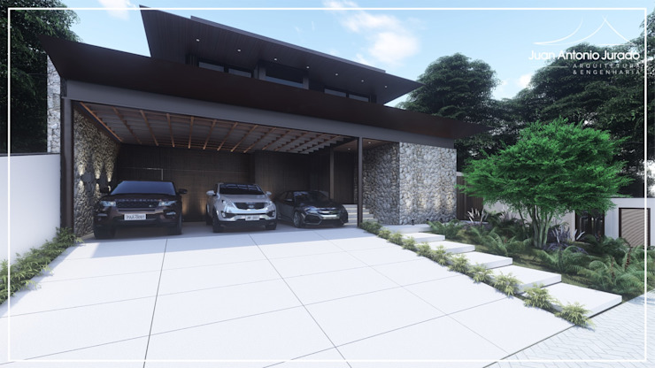 Fachada por Juan Jurado Arquitetura & Engenharia