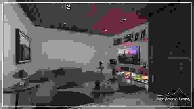 Sala de Tv por Juan Jurado Arquitetura & Engenharia