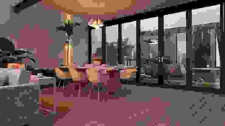 Modern dining room by AR216 Modern