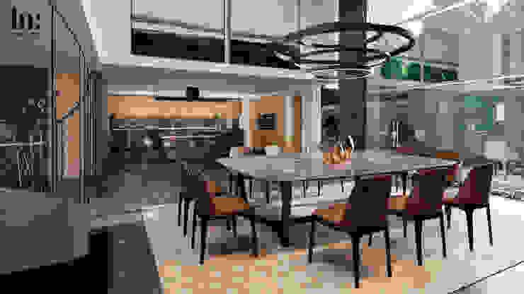Comedor y Cocina Cocinas minimalistas de HC Arquitecto Minimalista