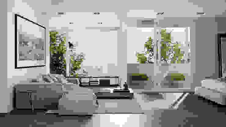 Chambre minimaliste par HC Arquitecto Minimaliste