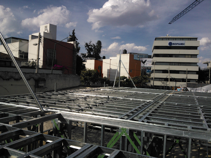 Casa Prefabricada en Mexico. Modern commercial spaces
