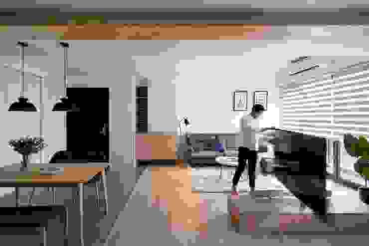 旋轉式電視架 根據 極簡室內設計 Simple Design Studio 北歐風