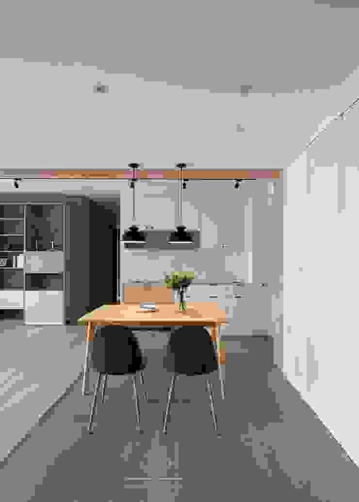 灰色地磚 根據 極簡室內設計 Simple Design Studio 北歐風