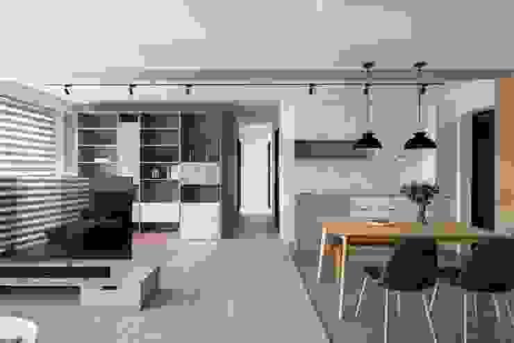 開放書房 根據 極簡室內設計 Simple Design Studio 北歐風