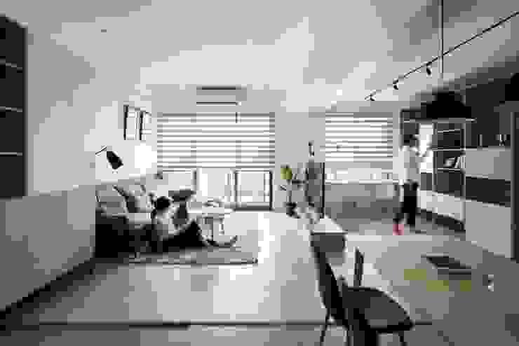 客廳 根據 極簡室內設計 Simple Design Studio 北歐風
