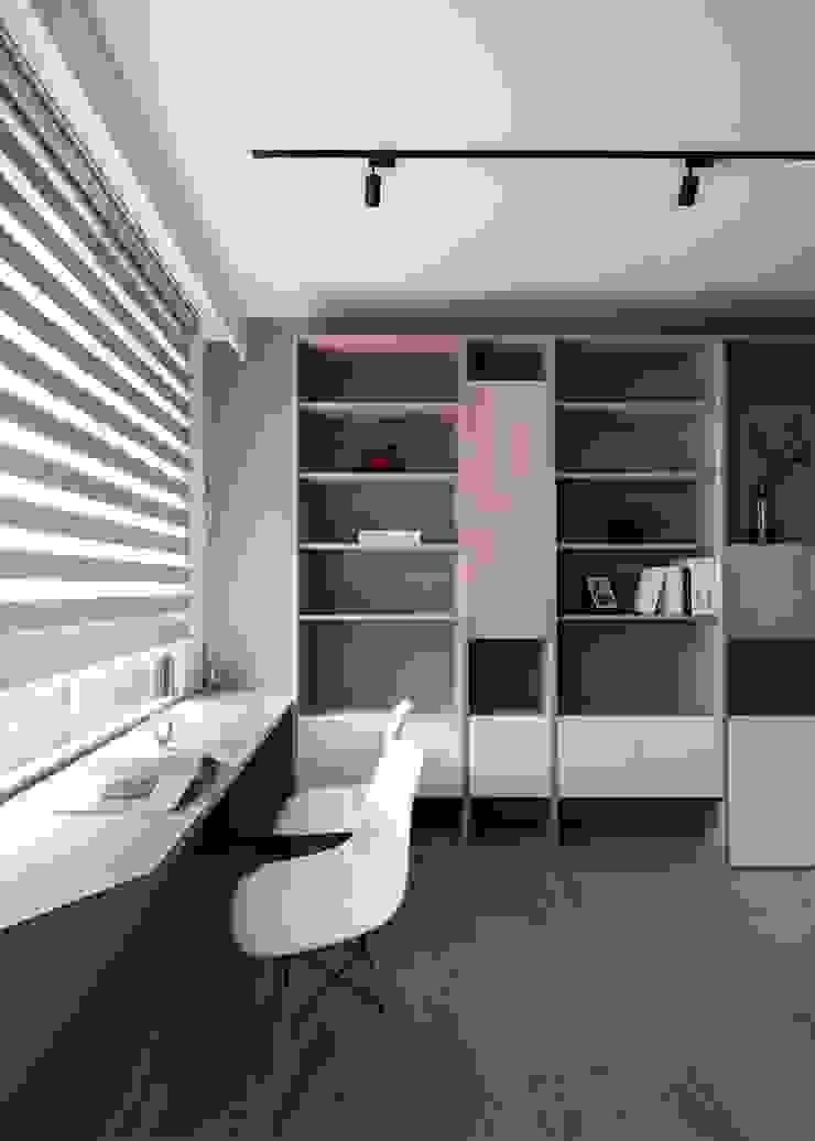 開放式書房 根據 極簡室內設計 Simple Design Studio 北歐風