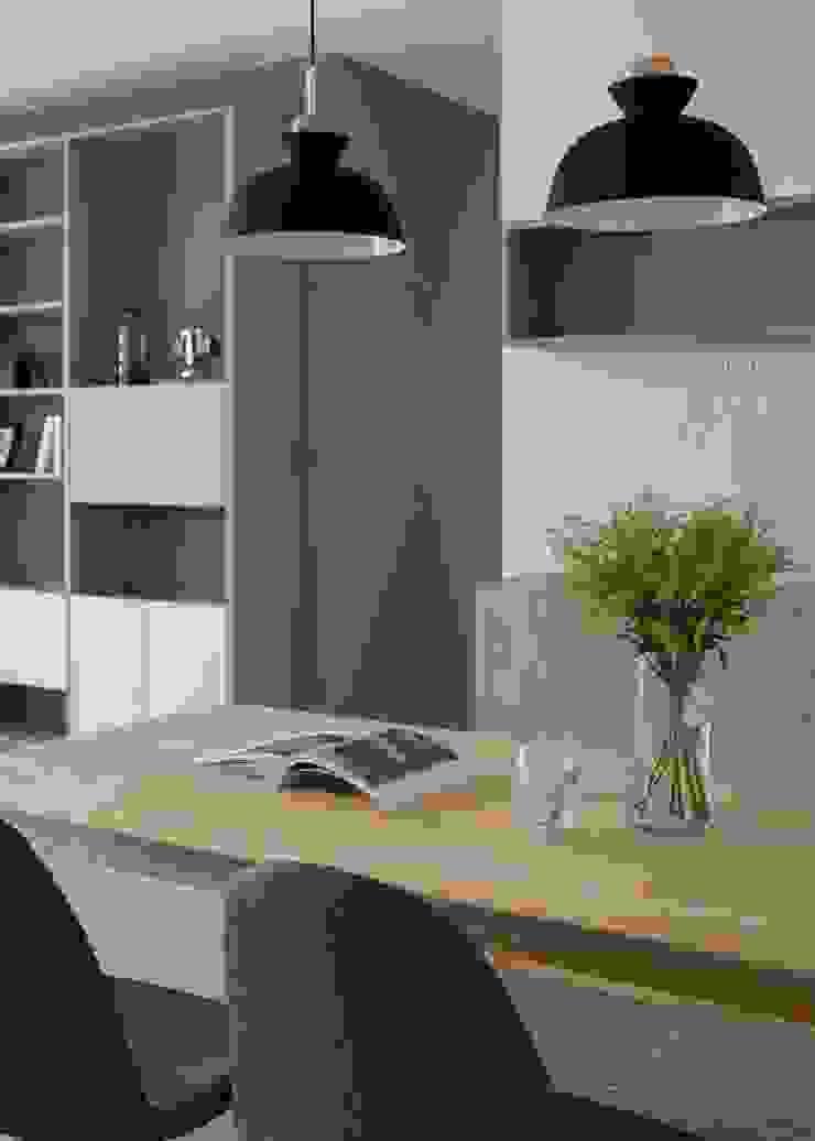 餐廳 根據 極簡室內設計 Simple Design Studio 北歐風